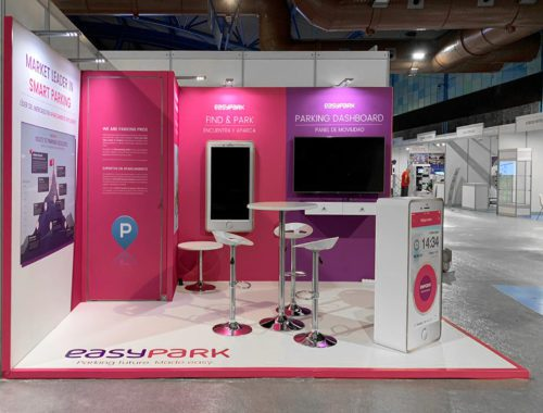 Diseño Stand Corporativo Easypark