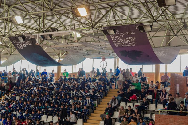 Pabellón Tematización Ciudad Deportiva Carranque
