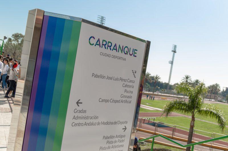 Señaletica Tematización Ciudad Deportiva Carranque