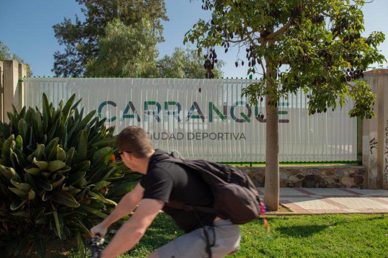 Exterior Tematización Ciudad Deportiva Carranque