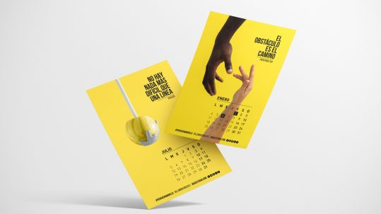 calendario corporativo 2021 Portada
