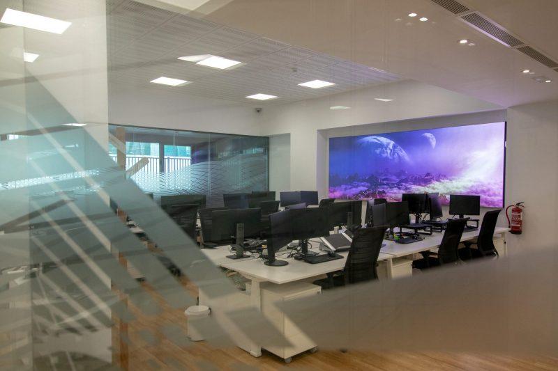 Diseño Oficina Málaga Puestos de trabajo