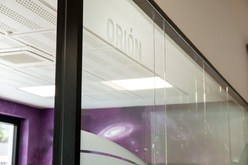 Diseño Oficina Málaga Vidrio