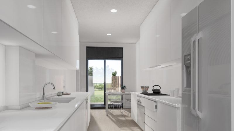 imágenes 3d para viviendas Cocina