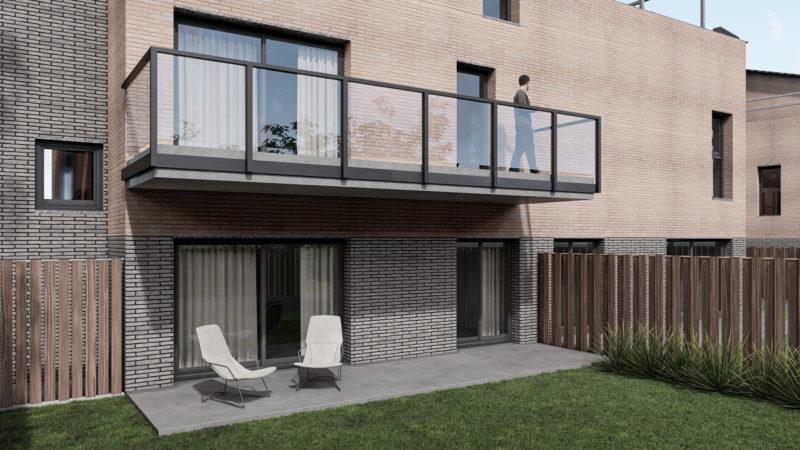 imágenes 3d para viviendas Jardín