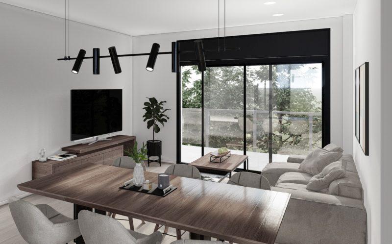 imágenes 3d para viviendas Salon